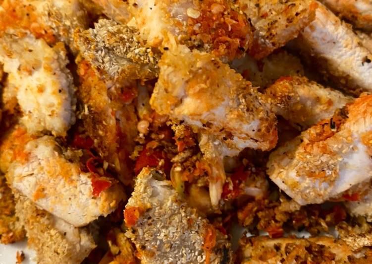 Ayam geprek Oatmeal
