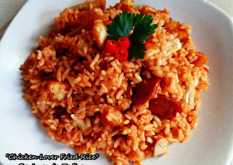 Chicken Lover Fried Rice