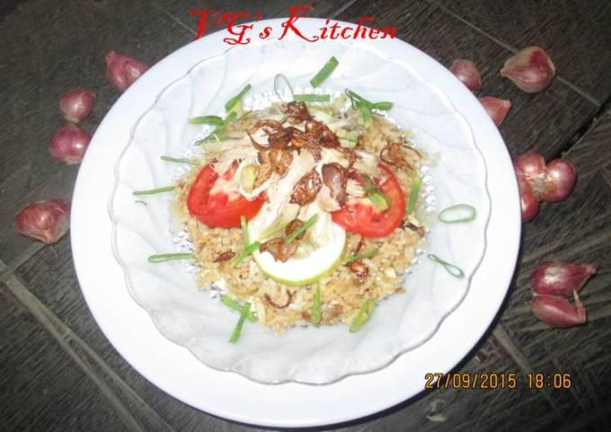 Fried Rice from Central Java (NASI GORENG JAWA TENGAH)