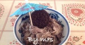 Ice cream oreo