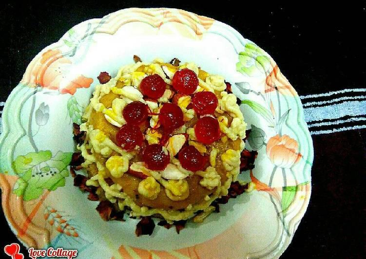 Layered halwa 🎂 cake