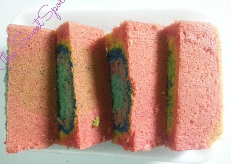 Rainbow Block cake# author Marathon contest #