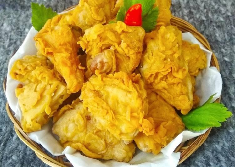 Tewel Goreng Tepung/Tewel Krispi