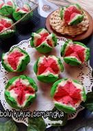 Bolu Kukus Semangka : kukus, semangka, Resep, Kukus, Semangka, Sederhana, Rumahan, Cookpad