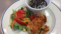 Permalink to Recipe: Tasty Chicken Enchiladas w/ Black Beans and Mexican Chopped Salad