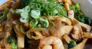 Eringi [エリンギ] Mushroom, Prawns & Broccoli In Sweet Oyster Sauce