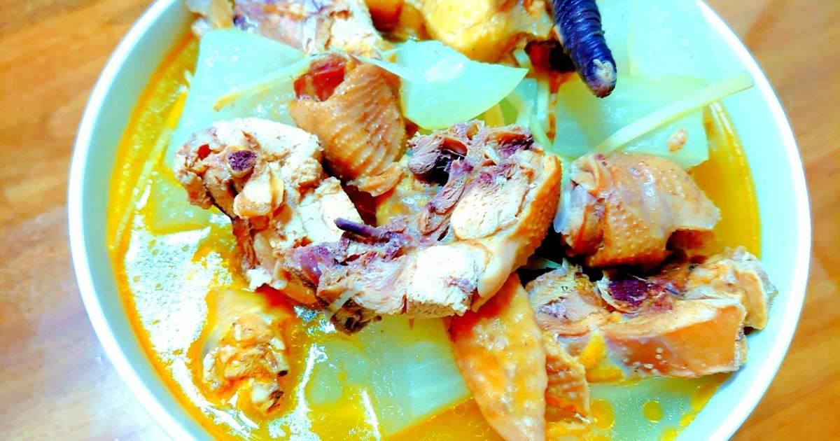 魏鈺娟(娟娟廚房創意料理) 發表的 閹雞冬瓜湯 食譜 - Cookpad