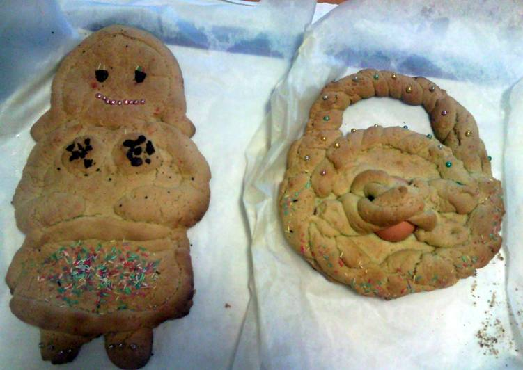 Very very big italian easter biscuit (scarcella)