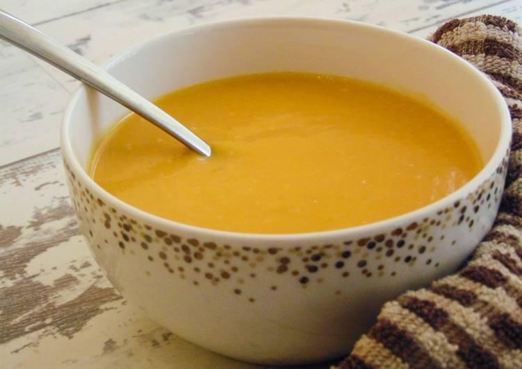 Creamy Coconut & Butternut Squash Soup