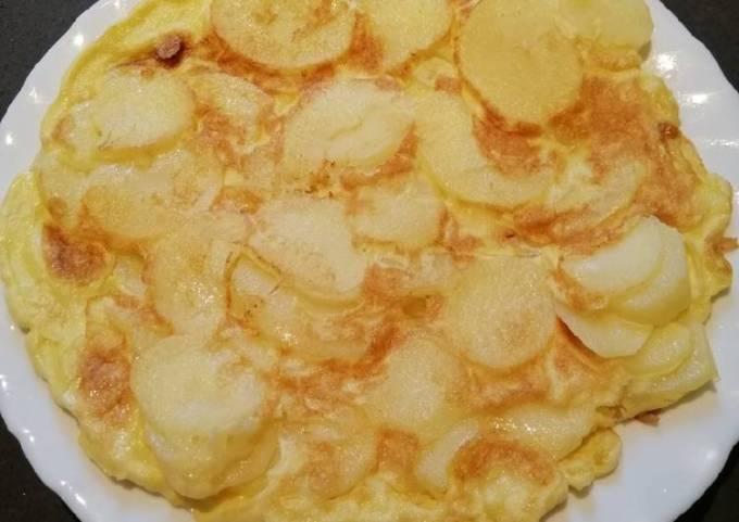 Potato Pizza Egg😊