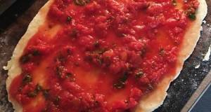 No Oil No Onion PIZZA SAUCE With Fresh Herbs