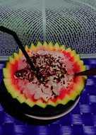Cara Membuat Sup Semangka : membuat, semangka, Resep, Semangka, Sederhana, Rumahan, Cookpad