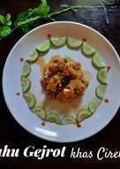 Resep Tahu Gejrot Cirebon : resep, gejrot, cirebon, Resep, Gejrot, Cirebon, Sederhana, Rumahan, Cookpad