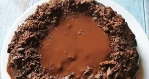 Kek Coklat Lembut 3 Bahan Guna Biskut