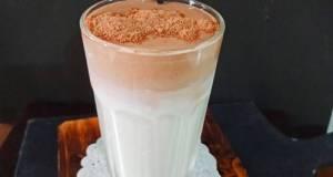 Ice Milk Dalgona Milo