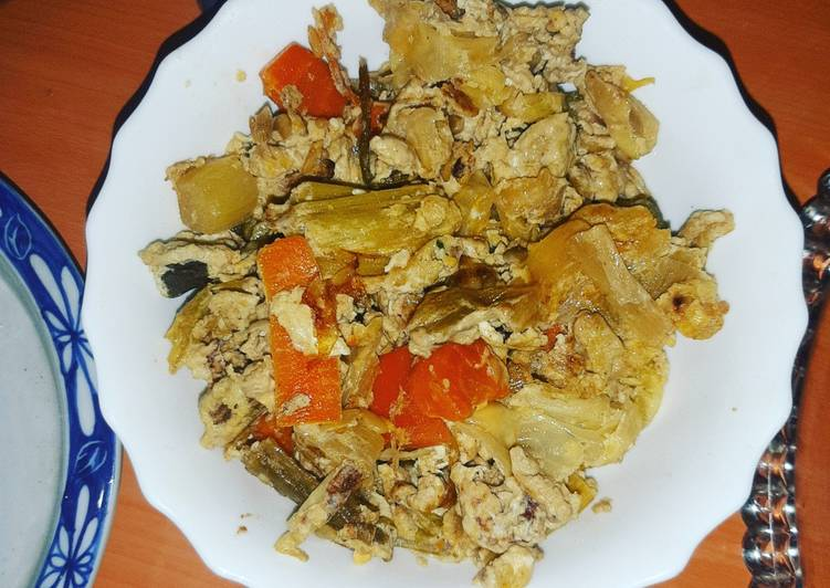 Fried- Steamed Veggies with Soy Sauce and Sunflower Seeds- 2.0