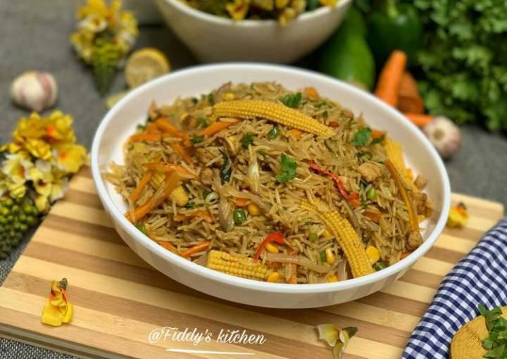 Next level fried rice 1