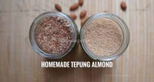 Homemade Tepung Almond / Almond Meal / Almond F...