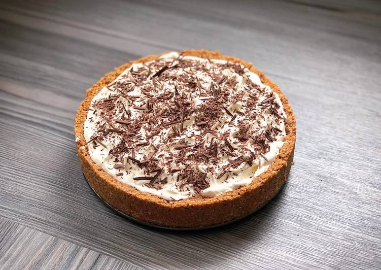 Easy No-Bake Banoffee Pie
