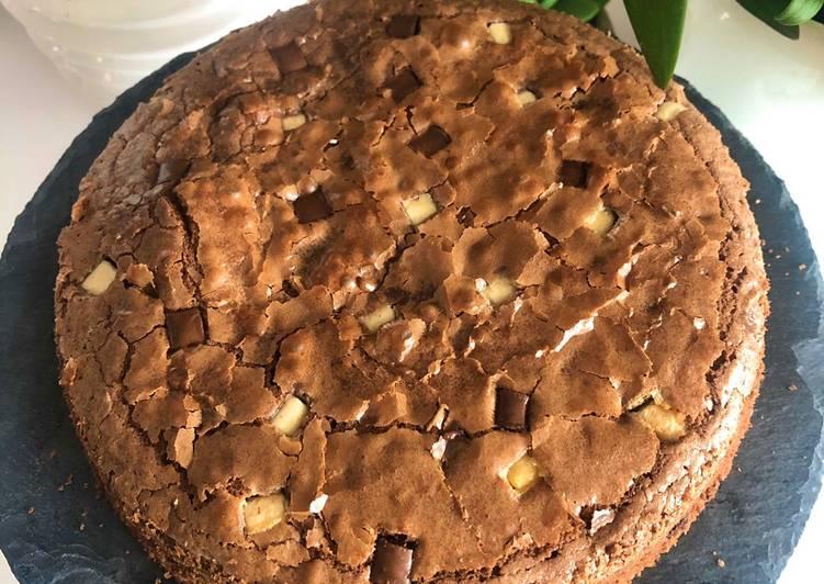 Brownie pépites 3 chocolats