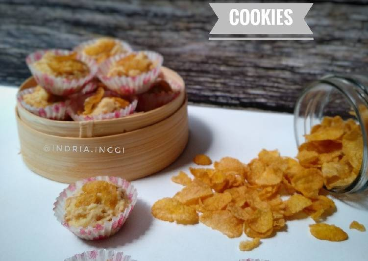 🌾 Crunchy Cheese Cornflakes Cookies 🌾 Source : Tintin Rayner