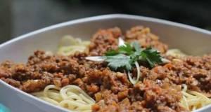 Spaghetti Bolognese Ala Hotel Nusa Dua