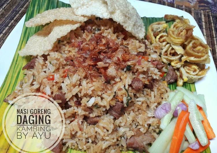 Nasi Goreng Daging Kambing