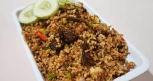 Nasi Goreng Rendang / Nasi Goreng Ala Anak Kost