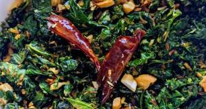 Indian Spiced Sauteed Kale