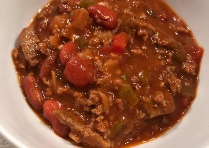 Chunky Gameday Beef Chili