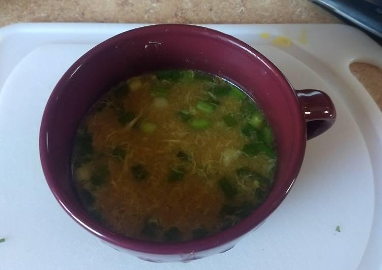Egg drop soup instant pot ip