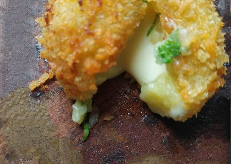 Potatoes cheese melt