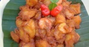 Sambel goreng kentang udang