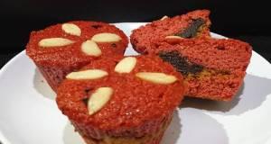 Keto Red Velvet Muffins Sugar & Gluten Free #ketopad
