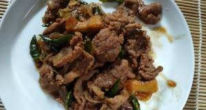 Tumis Daging Sapi Lombok Ijo