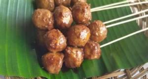 Baso Bakar (Sokar bumbu kacang)🍡