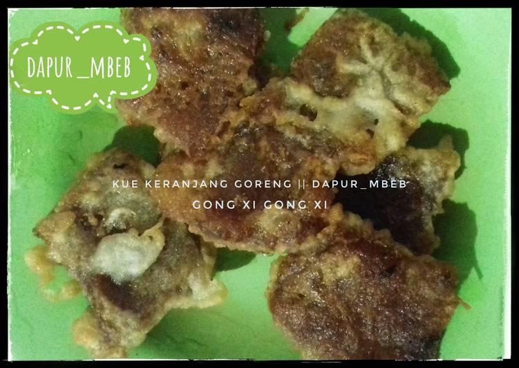 Kue keranjang goreng tepung || dapur_mbeb