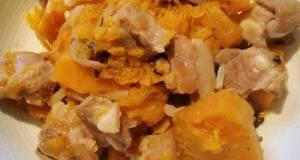 Pork Ribs And Pumpkin