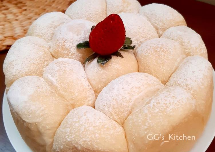 Japanese Soft & Fluffy Milk Bread (Roti Susu yang lagi Viral 😍)