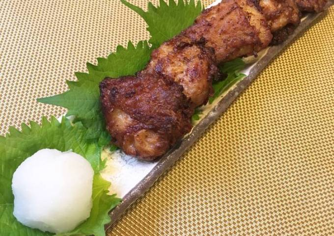 """Shoyu Karaage "" the Japanese Fried Chicken Soysauce flavor"