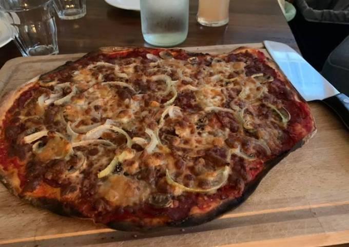 Sourdough Homemade Pizza