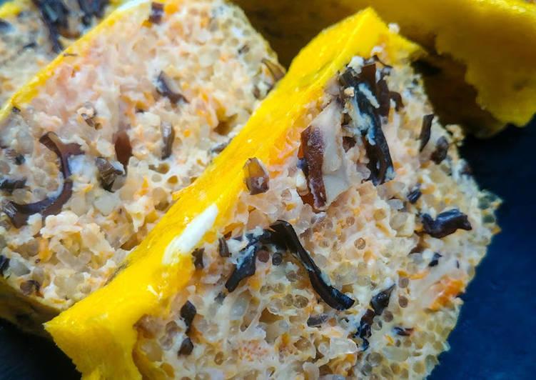 Vietnamese Vegetarian Egg Meatloaf