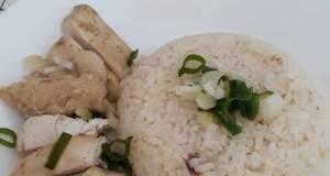 Singapore Hainanese Chicken Rice ala Home Made