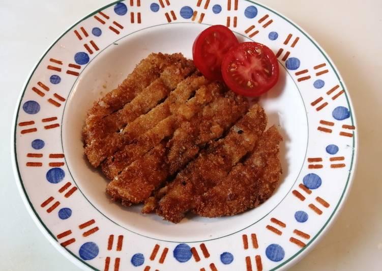 Tonkatsu (porc pané à la japonaise)