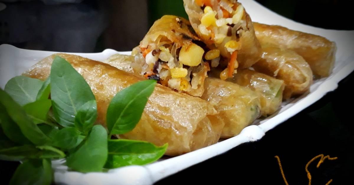 Món nem rán chay: 27 cách làm tại nhà đơn giản ngon miệng - Cookpad