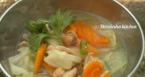 1Sup Ayam Sayuran