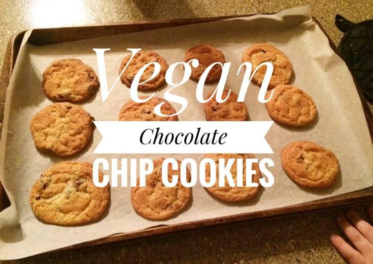 Vegan Chocolate Chip Cookies 🍪