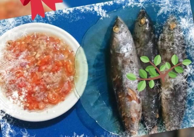 Ikan tongkol cuexz + sambal matah jeruk limau