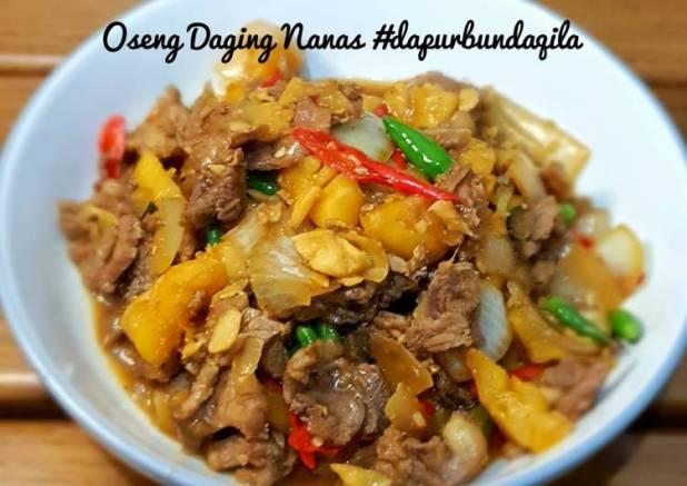 Oseng Daging Nanas #dapurbundaqila