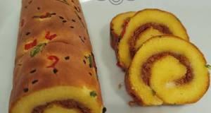 Beef Floss Swiss Roll
